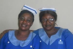 Aminata en Kadiatu