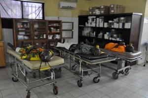 'In voorbereiding voor een staaroperatie'